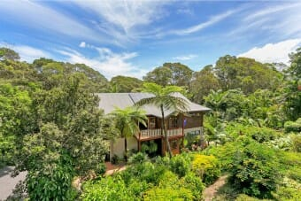 54 Masons Road, Kuranda, Qld 4881 4 Bdrm, 4 Bath including  Self Contained Studio, Balconies, Lilly Pond in Tropical Gardens