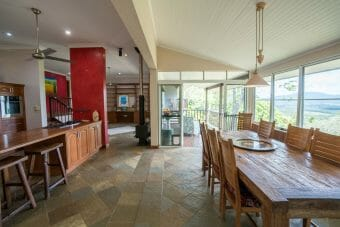 6 Hilltop Close, Kuranda, Qld 4881 Just Stunning; Views; 5 Bd; Office; Decks on 2.8 Acres