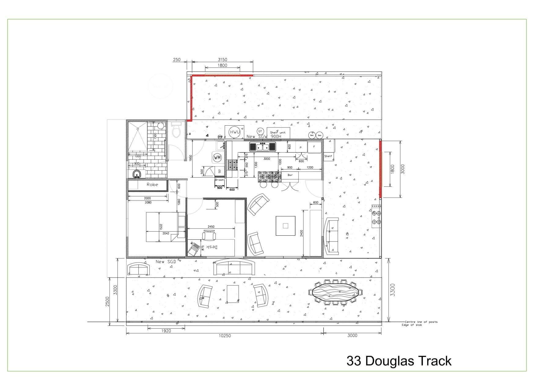 33 Douglas Track floor plan